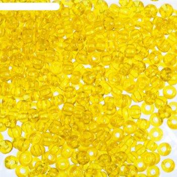 Бисер gamma круглый 10/0 (с126 желтый)