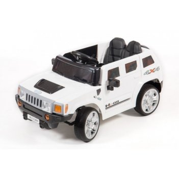 Электромобиль barty м333мр hummer белый