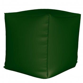 Пуфик куб мини, ткань нейлон, цвет зеленый
