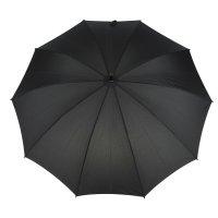 Зонт-трость механический, №3000, r=55см, цвет чёрный