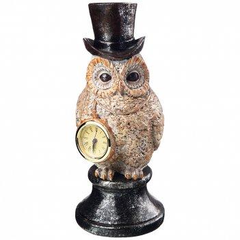 Часы английская коллекция сова 13*11*26,5 см