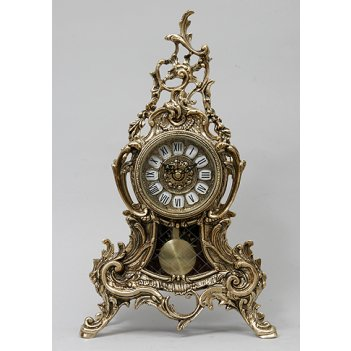 5645 часы луис... с маятником зол.43х25см
