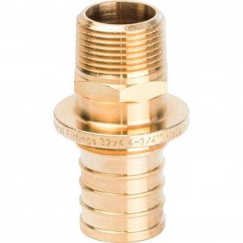 Переходник аксиальный stout sfa-0001-003234, 32x3/4 наружняя резьба