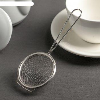 Сито для чая металлик, диаметр 5 см