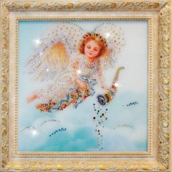 Картина сваровски - ангел изобилия