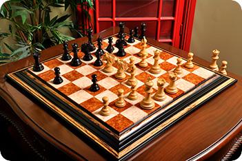 Эксклюзивные резные шахматы ручной работы артизан бользано