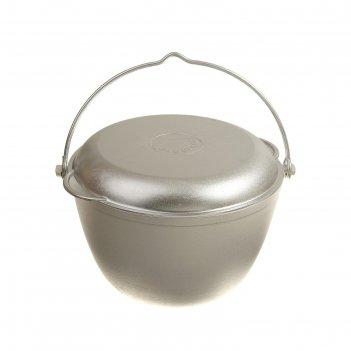 Казан походный 4 л с крышкой-сковородой