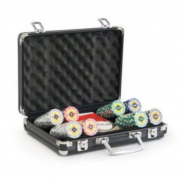Набор на 200 фишек покерный crown casino 14гр.