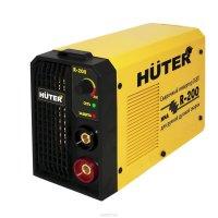 Сварочный аппарат инверторный huter r-200, ток 10-200 а, 220 в