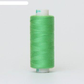 Нитка дор-так pl 40/2 400 ярд, цвет зелёный 351 к09