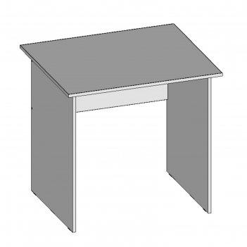 Стол рабочий с8.7(16), 800х680х750 мм, белый шагр