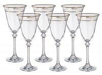 Набор бокалов для вина из 6 шт. александра 250 м...