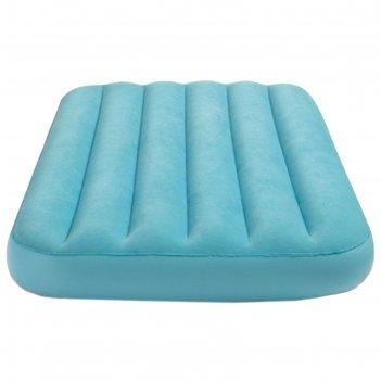 Матрас надувной, детский, флок 88х157х18 см, от 3 до 10 лет, микс