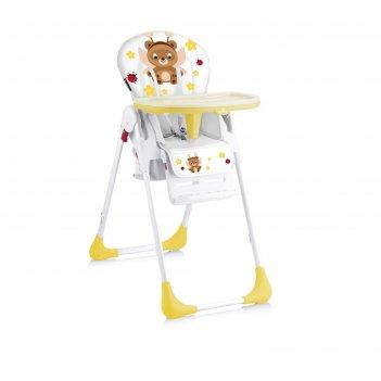 Стульчик для кормления lorelli tutti frutti, жёлтый / yellow fairy bear 18