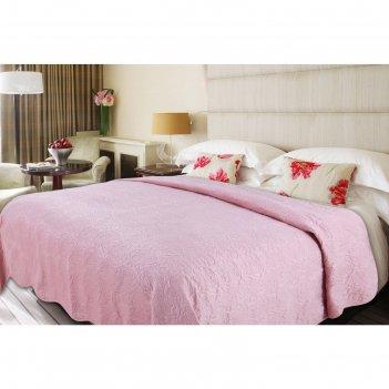 Покрывало deco, размер 200 x 220 см, розовый