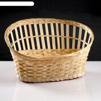 Корзина для подарков, 30x42x11/24, дно 14x30 см, бамбук