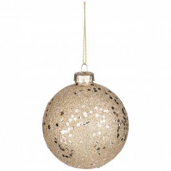 Декоративное изделие шар диаметр=8 см (мал-12 шт./кор=96 шт.)