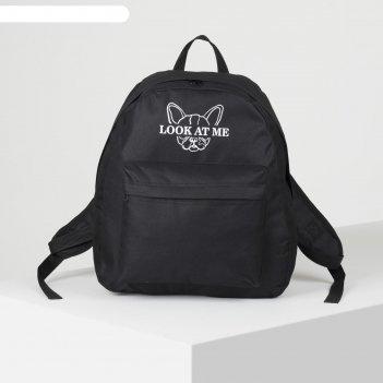 Рюкзак молод, 33*13*37, отд на молнии, н/карман, мопс