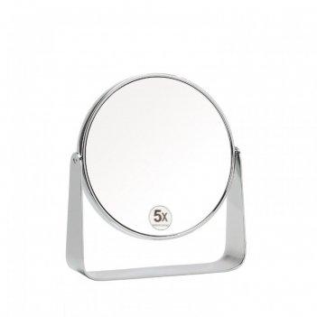 Andrea house зеркало настольное круглое на подставке из металла