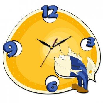 Часы настенные tiarella рыбка