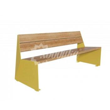 Скамейка стальная «монс» скамейка без спинки