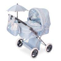 Коляска с сумкой и зонтиком для куклы, серия «кэрол», 60 см