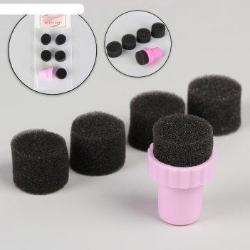 Набор для градиентного маникюра: штамп, сменные губки 5 шт