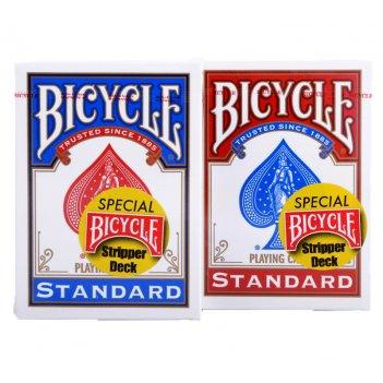 Карты bicycle stripper deck blue