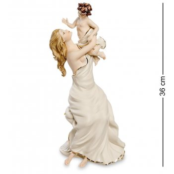 Sv-106 статуэтка «мать с ребенком» (sabadin vittorio)