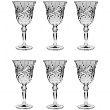 Набор из 6 бокалов для вина pinwheel, 220 мл