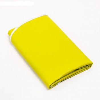 Клеенка 68*100 см., арт. 51367, пвх, с окантовкой, цвет фисташковый