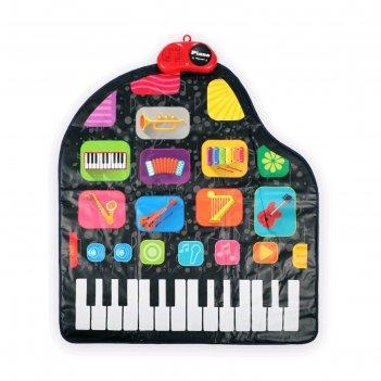 Игровой музыкальный коврик happy baby grammix