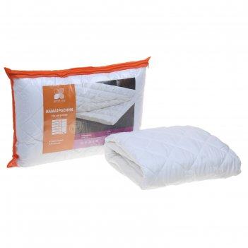 Наматрасник холфитекс на резинке 160х200 см, 150 гр/м, микрофибра/спандбон