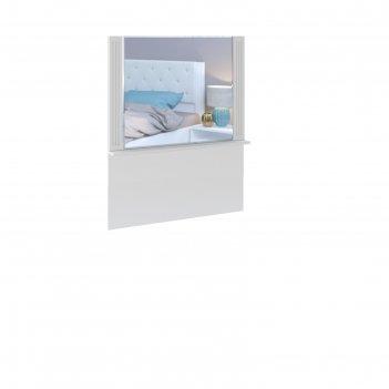 Зеркало№37 для стола 100х900х1165 тиффани белый текстурный