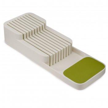 Органайзер для ножей drawerstore компактный, белый
