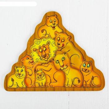 Головоломка львы п034