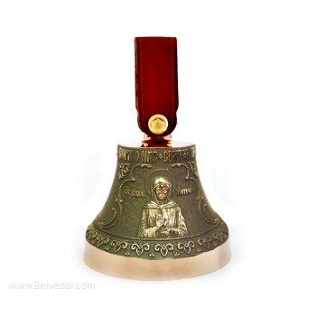 Колокольчик бронзовый с матроной московской