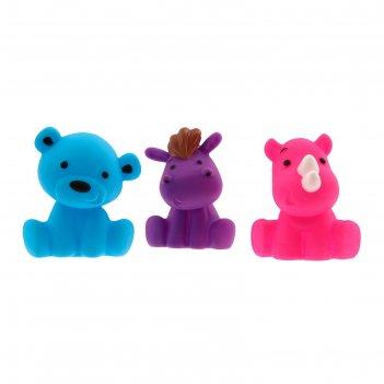 Игрушки для ванны «друзья 1», набор 3 шт.