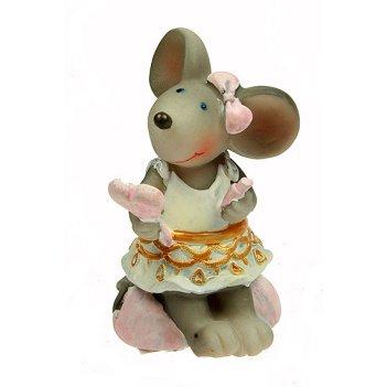 Фигурка декоративная мышка 6*6*9см (уп.4/96шт.)
