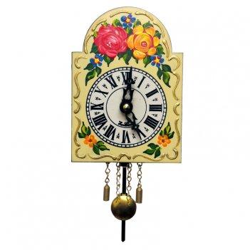 Миниатюрные часы со звуком кукушки sars 0830-qp