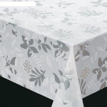 Клеенка столовая meiwa opa-05 wh, 130 см, рулон 20 п.м., белый