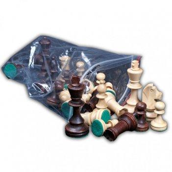 Шахматы стаунтон 4, (фигуры в отдельном пластиковом пакете), w
