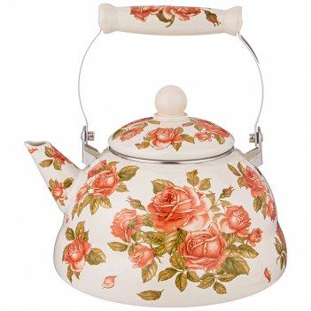 Чайник agness эмалированный, 3,0 л