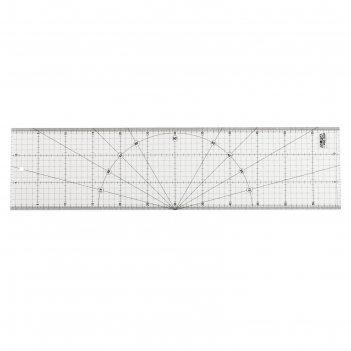 Линейка olfa ol-mqr-15x60, разметочная, метрическая, 150х600 мм