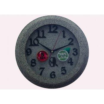 Часы настенные d30-323-камень
