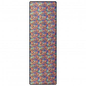 Коврик туристический color, с алюминиевой фольгой, 190 х 60 х 0,3 см