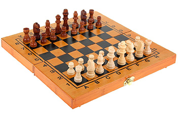 Игра настольная 3 в 1 нарды шахматы шашки, дерево 39х39х5см набор