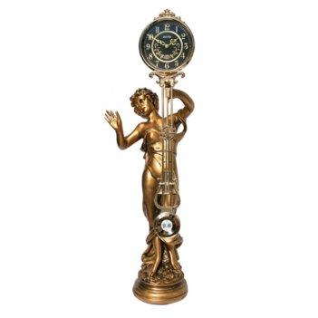 Скульптурные часы из полимерных смол восток к4603-1-1