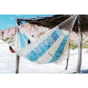Гамак двухместный paradise (бразилия) цвет голубой mixed