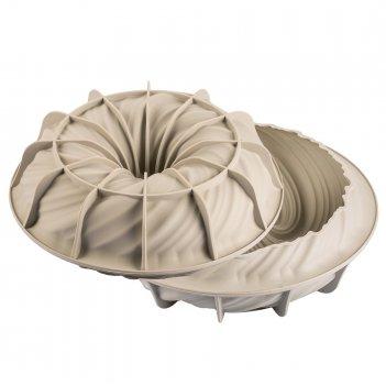 Форма для приготовления пирогов и кексов intreccio 23 х 7 см силиконовая